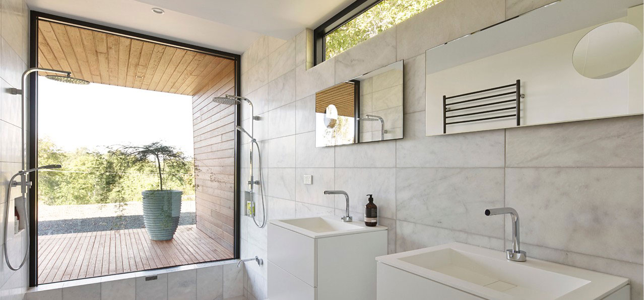 Bathroom and Balcony